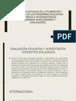 Problemas Actuales de La Planeación y Evaluación de (1)