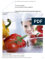 Aprenda Como Armazenar Verduras e Frutas Na Geladeira - Vivomaissaudavel.com