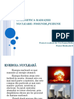 Energetica radiației nucleare