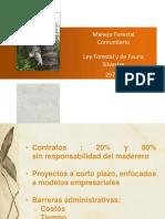 Presentación Mfc AIDESEP Agosto 2012
