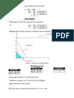 Ejercicios Resueltos 1, Metodo Grafico