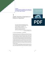 Gallagher Et Al. 2015. a Neurophenomenol