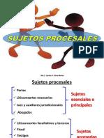 3. Sujetos Procesales - Acumulacion