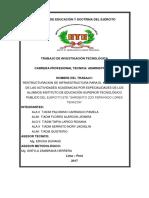Comando de Educación y Doctrina Del Ejército Tresis (1)
