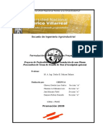 Estudio de Prefactibilidad para la Instalacion de una Planta de Industrializacion de Tara 2009.docx