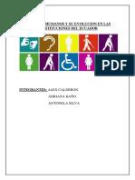 Derechos Humanos y Su Evolucion en Las Constituciones Del Ecuador (1)