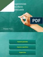 Reglas y Sugerencias Para Una Escritura Científica Adecuada_R_Forno_compilada