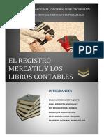 Derecho Comercial Registro Mercantil Libros Contables. Sistema de Relación (Final)