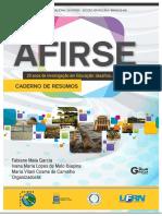 Livro Afirse _20 Anos de Investigação Em Educação_ix Colóquio Manaus