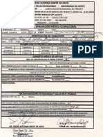 Examen de Salud Ocupacional.