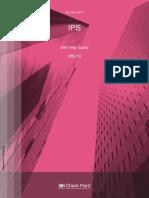 IPS Self Help Guide Ver R8010