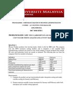 Questn Wk 2 & Wk 3 Assgn Case Study (1)