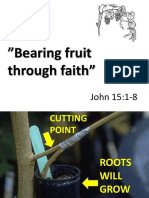 Bearing Fruit Through Faith