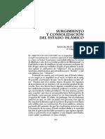 Surgimiento y Consolidación Del Estado Islamico Manuel Ruíz Figueroa