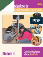 MANUAL DE INSTALACIONES DE ABASTECIMIENTO DE AGUA  REPARACION  Y MANTENIMIENTO DE APARATOS SANITARIOS-MODULO 3.pdf