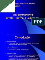 2. via Permanente I-bitola Sublastro Lastro