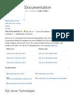 SQL Server Documentation _ Microsoft Docs