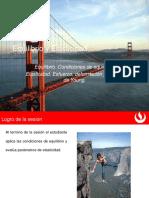Diapositiva Equilibrio-Esfuerzo y Deformación