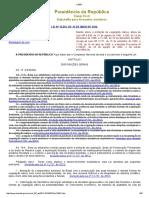 9 Lei Nº 12.651-2012 e Alterações (Código Florestal Brasileiro)