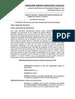 333004462 Como Cobrar Costos y Costas Modelo de Escrito Judicial de Cobro de Costas y Costos