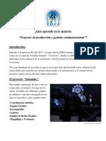 Burgos Manuel - Proyecto de Produccion y Gestion
