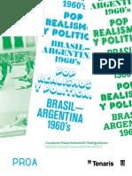 Fundacion PROA Arte de Contradicciones Pop Realismos y Politica Argentina 1960