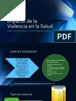 Impacto de La Violencia en La Salud