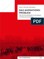 Rolf Peter Sieferle - Das Migrations-Problem