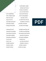 Write the Plural and Singular Escribir El Plural y Singular