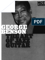 George Benson the Art of Jazz Guitar Notes Tabs