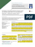 Investigación en la absorción por UV - Vis de un cemento y emulsión asfáltica