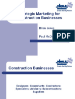 Strategic Marketing Fr Construction Business