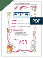 Proyecto de Pasteleria Docx