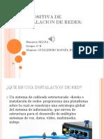 Diapositiva de Instalacion de Redes