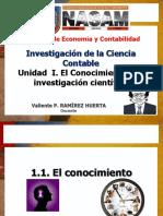 1. Unidad I. Conocimiento y Ciencia_2017-1