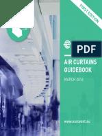 Air Curtains Guidebook, Eurovent, 2016