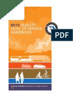 2013 QLOS Handbook