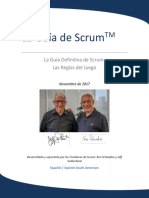 2017 Scrum Guide Spanish SouthAmerican
