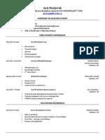jack resume