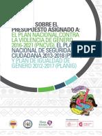 Informe Planes Nacionales