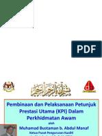 Teknik Pembinaan KPI untuk organisasi pendidikan atau awam