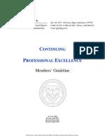 CPE Member Guideline 2013