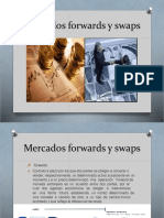Mercados Forwards y Swaps