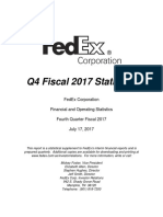 FedEx Q4 FY17 Stat Book