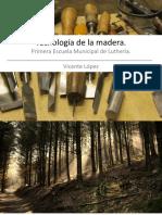 Tecnología de Las Maderas Aplicada a La Construcción de Guitarras ELVL.