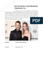 Chris Hardwick Net Worth Chris Hardwick House  Chris Hardwick Car