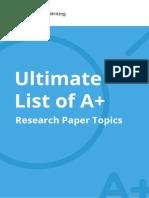 Cw eBook Research Paper