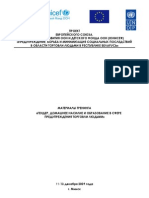 Handbook for projects planning to prevent trafficking in children (International Federation Terre des Hommes)