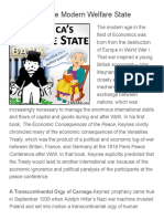 The Birth of the Modern Welfare State  |  Ferris Eanfar