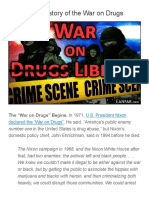 The Secret History of the War on Drugs     Ferris Eanfar